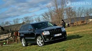 Teszt: Jeep Grand Cherokee SRT 8