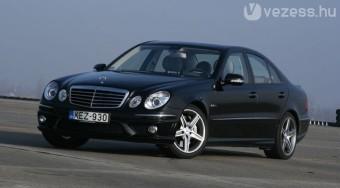 Teszt: Mercedes-Benz E63 AMG