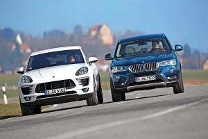 Összehasonlító teszt: BMW X3 xDrive 35d és Porsche Macan S Diesel