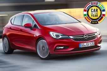 Az Opel Astra az Év Autója 2016-ban
