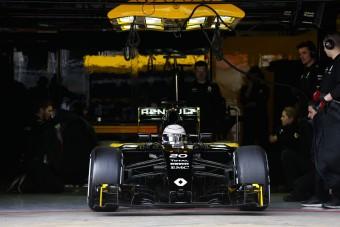 F1: Fél másodpercet hozott az új motor a Renault-nak