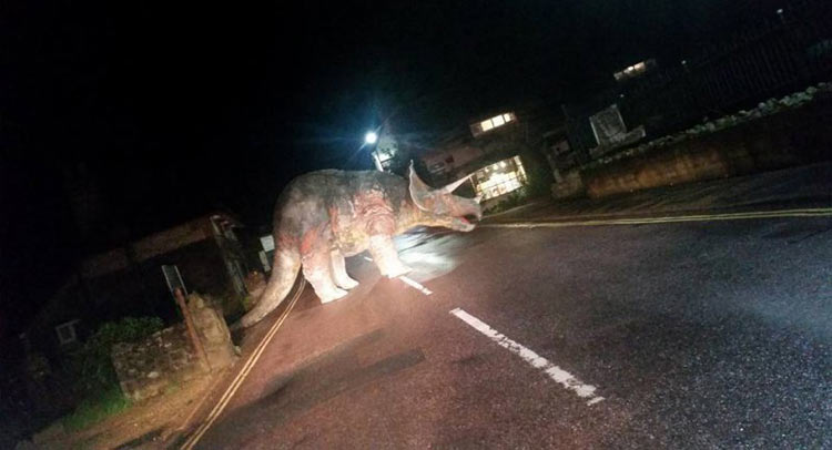 Dinosaur-in-the-UK