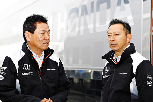 f1-barcelona-february-testing-2016-yasuhisa-arai-and-yusuke-hasegawa-honda
