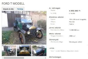 Megvan Magyarország legöregebb használt autója