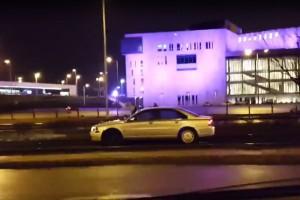 Villamosnak képzelte magát egy volvós Budapesten - Videó