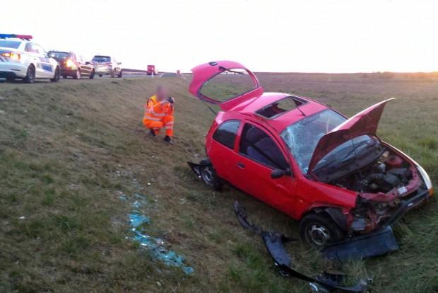Bogár okozott autóbalesetet Szombathelynél