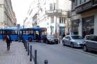 Diplomata-Merci miatt akadt el egy busz Budapesten