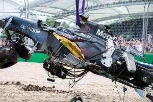F1: A McLaren is átment a törésteszten