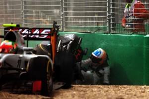 F1: Alonso anyukájára gondolt a bukás után