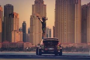 A Gymkhana 8 a dubaji rendőrséget is felkente a falra