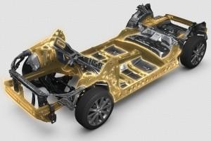 Bemutatta új, globális padlólemezét a Subaru