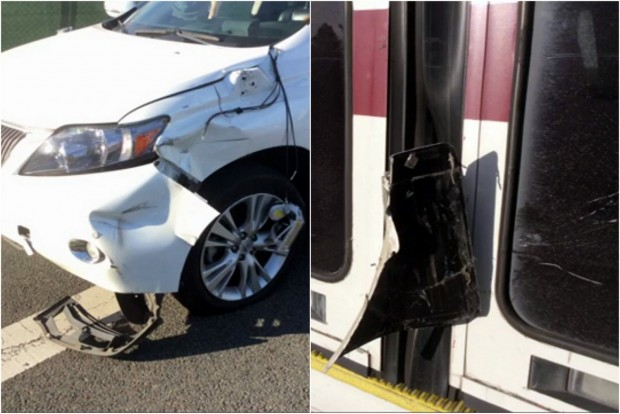 Google Car baleset