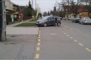 Szegeden kimaxolták a pofátlan parkolást