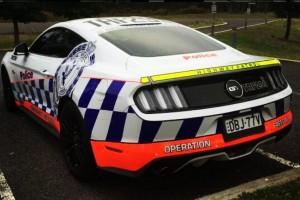 Lebőgött a rendőrségi teszten a Ford Mustang
