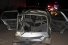 Meghalt az oszlopnak csapódott autó utasa – fotók