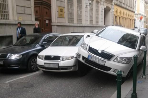 Megmagyarázhatatlan baleset történt Budapesten