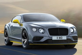 Bentley Continental GT Speed Black Edition: méregerős fekete
