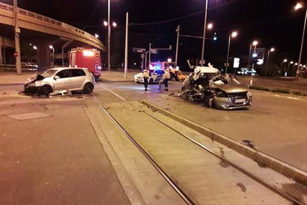 Halálos baleset történt Budapesten – fotó