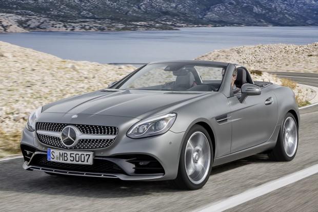 Elöl hajt a Mercedes következő roadstere?!