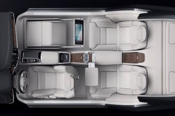 A Volvo megépítette a világ legkényelmesebb luxusszedánját