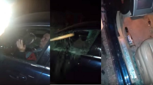 Látni kell, ahogy az orosz rendőrök kikapják a részeg sofőrt