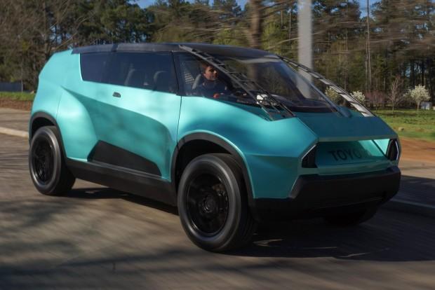 Tiniknek épített autót a Toyota