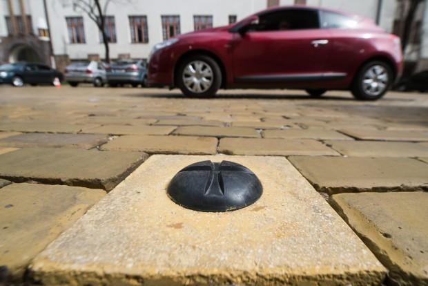 Okos parkoló Kecskeméten