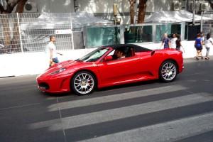 Nagy a dugó az Üllőin, állítólag lerobbant egy Ferrari