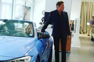 Mi köze van Hasselhoffnak a BMW M4-hez?