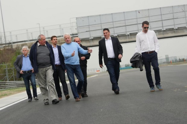 F1: Átadták a felújított Hungaroringet