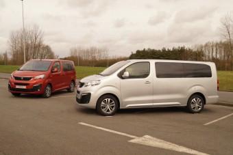 Megtapogattuk az új Peugeot és Citroen furgonokat, kisbuszokat