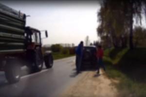 Részeg magyar autós balhézott, videóra vették