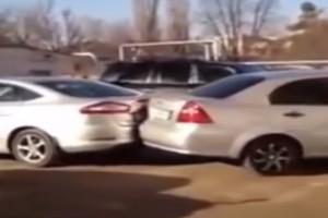 17 autót tört össze a részeg orosz nő