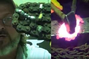 Valami elképesztőt alkotott motorláncból az ügyes kezű szaki
