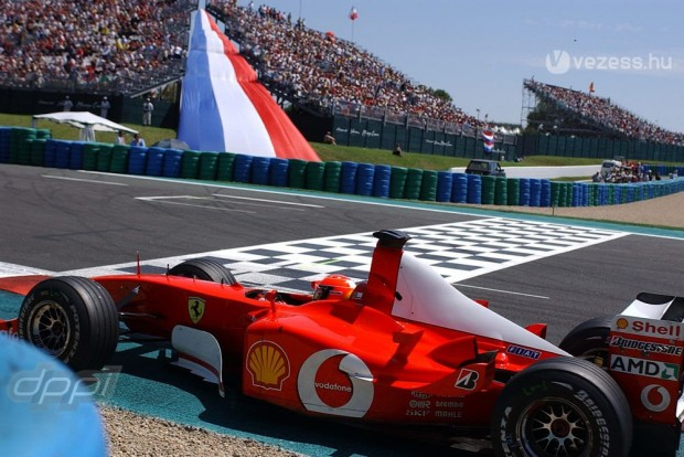 Schumacher 2002-ben ötödször világbajnok
