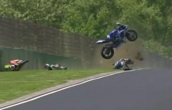 Nagyot bukott a magyar motoros a világbajnokságon
