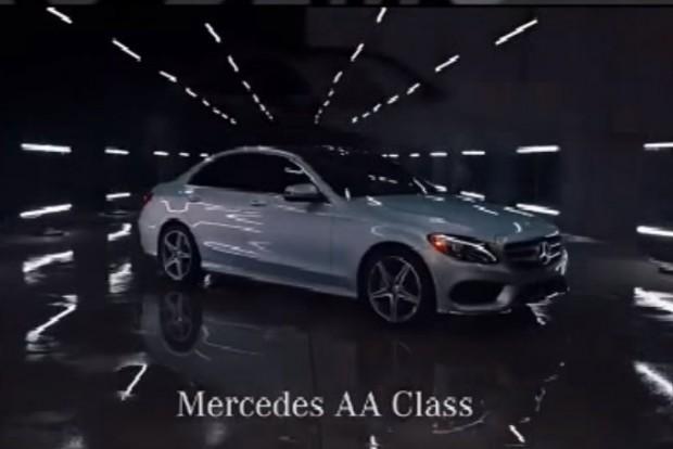 """Világpremier: Mercedes-Benz """"Ceruza"""" AA-osztály"""