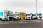 Sikeres volt az összekapcsolt teherautók európai tesztje