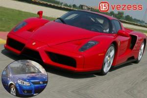 Megjött az új Suzuki, közben Ferrarit hajtottunk