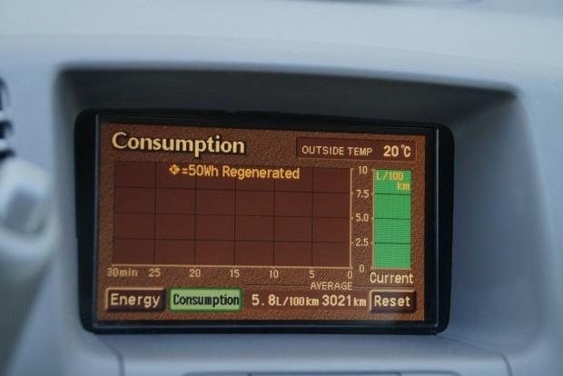 A visszatáplált 50Wh-s csomagokat számolja a központi kijelző