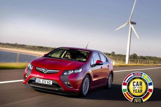 2012-ben az Opel Ampera az Év Autója