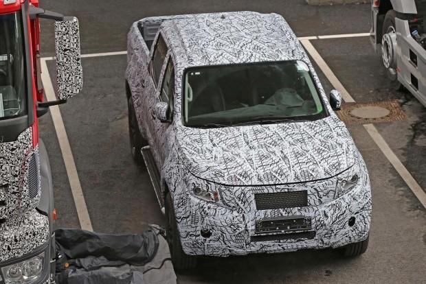 Célegyenesben a Mercedes prémium pickupja