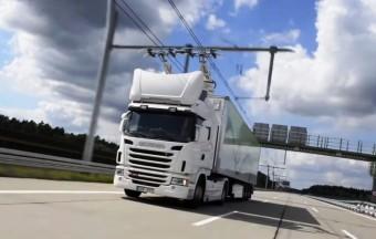 Már élesben tesztelik az áramszedős kamionokat
