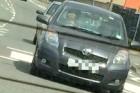 Kutya vezette az autót a városban. Ennyi.