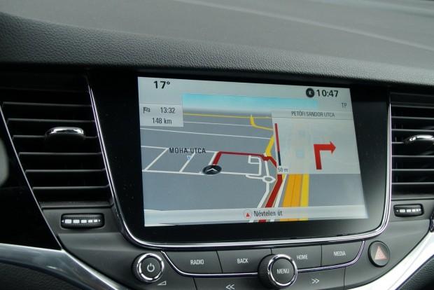 A navigáció képe nem szép, de a rendszer jól működik