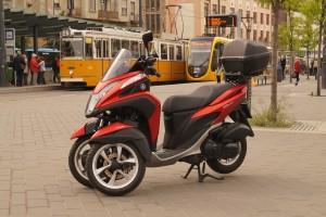 Három kerékkel az igazi a városi motorozás