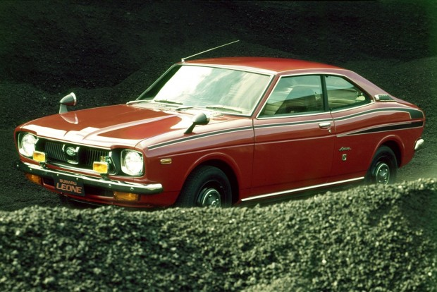 Subaru Boxer 50 éves