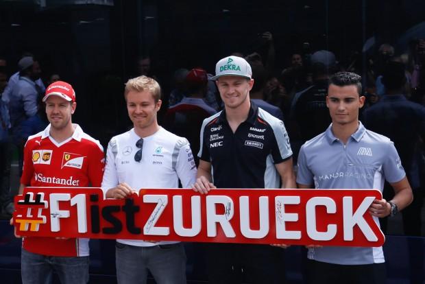 A németek megint kezdik szeretni az F1-et