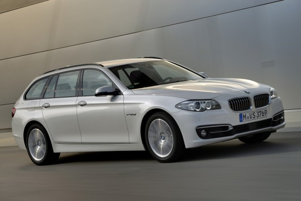 A legjobb nagy prémium autó: BMW 5
