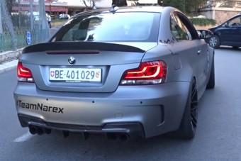 Ez a BMW úgy szól, mint egy AK47-es